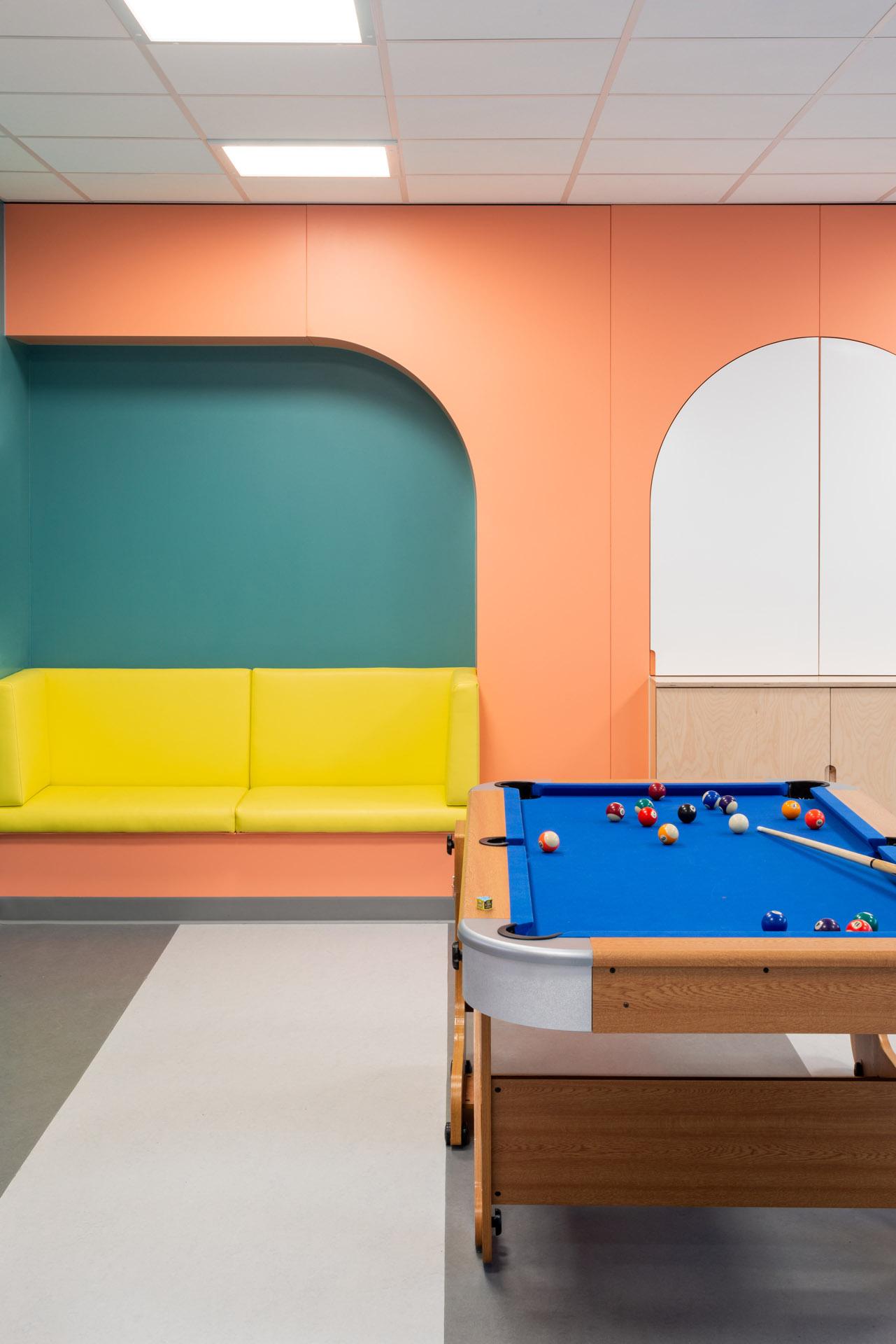 CAMHS Edinburgh games room