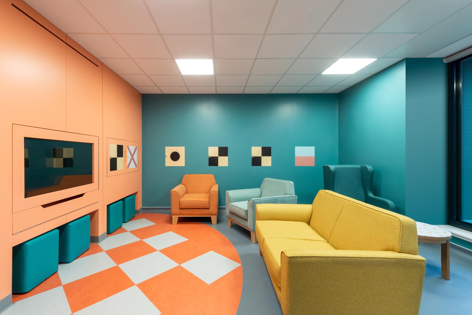 CAMHS Edinburgh quiet room