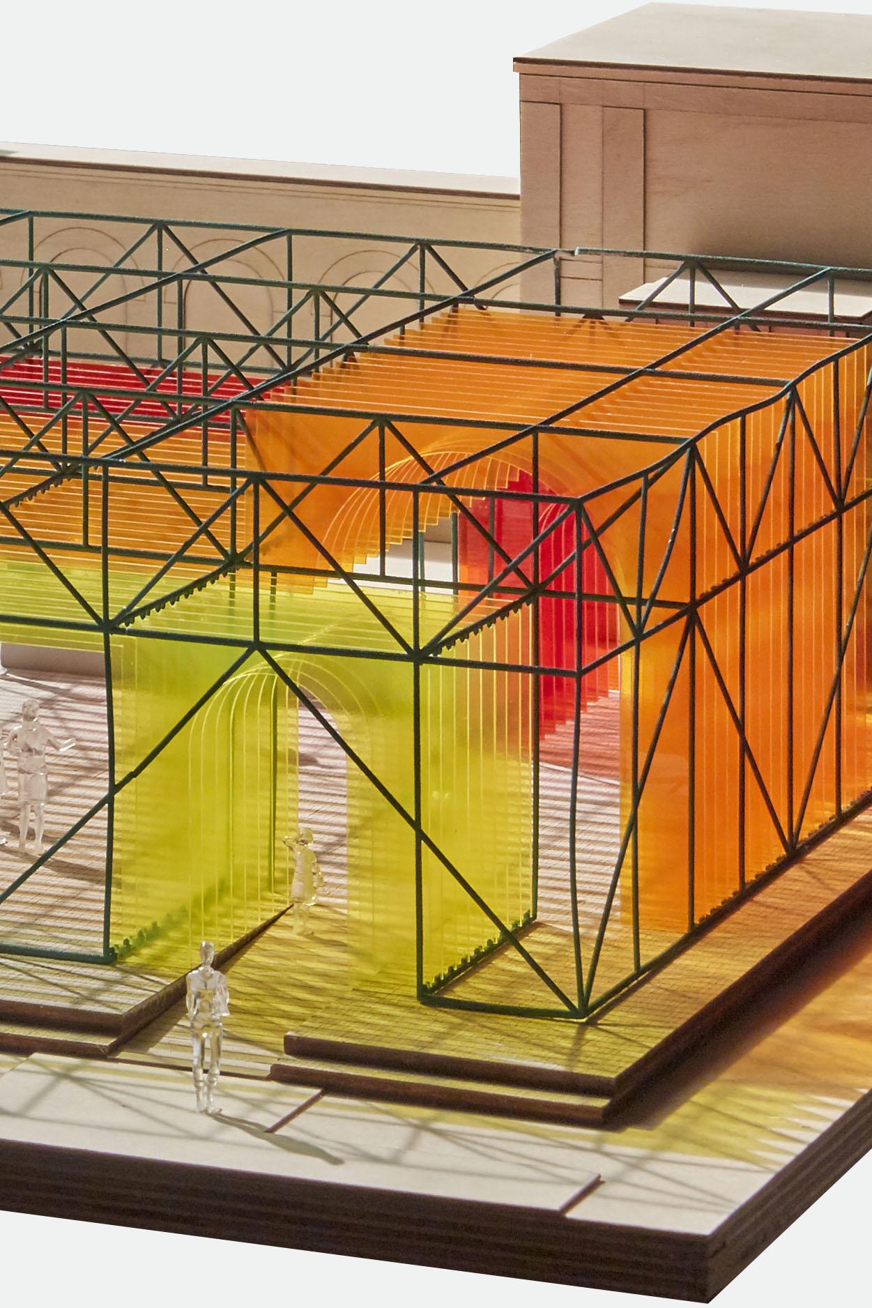 Dulwich Pavilion structure