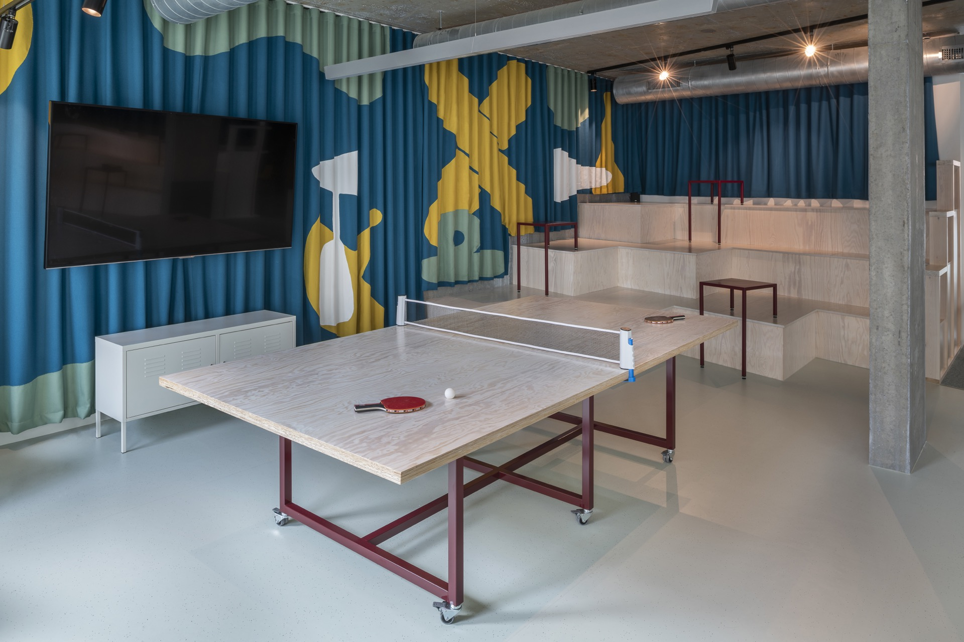 accuRx Office - Table tennis table