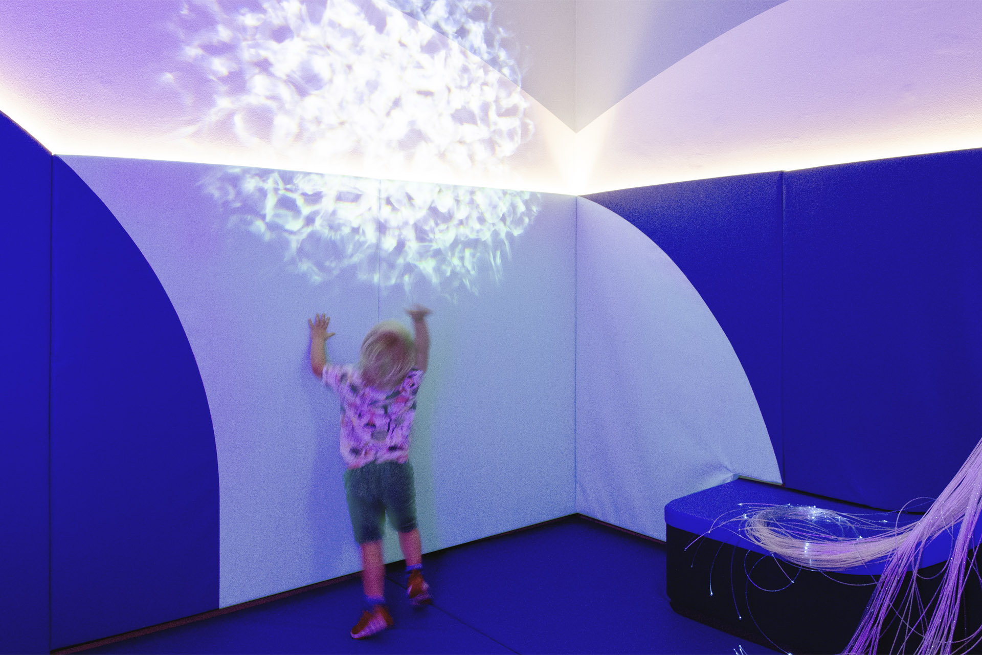 CW+ Sensory Rooms water projector